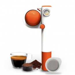 Handpresso Pump Pop orange manual espresso maker - Handpresso