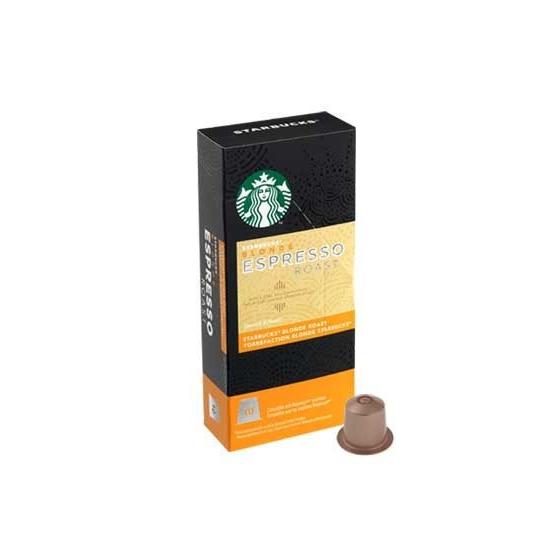 10Starbucks® Blonde Espressokapseln– Handpresso