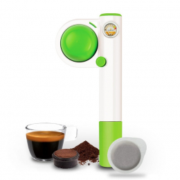 Machine à café portable Handpresso Pump Pop verte - Handpresso