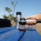 Machine expresso manuelle coffret Handpresso Pump set argent-Handpresso