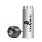 Bouteille isotherme blanche pour machine expresso portable -Handpresso