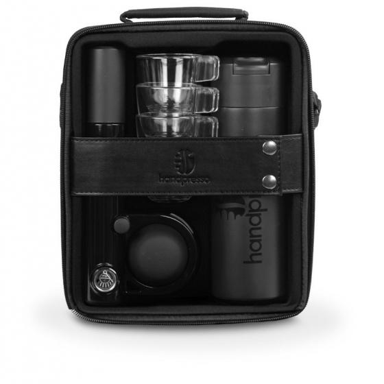 Gebraucht Espressoset Handpresso Pump Schwarz– Handpresso