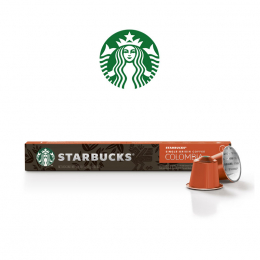Starbucks Colombia 10 capsule