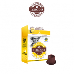 10Lobodis Colombie Espressokapseln– Handpresso