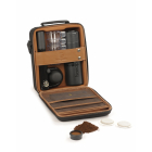 Machine expresso manuelle coffret Handpresso Pump set noir marron