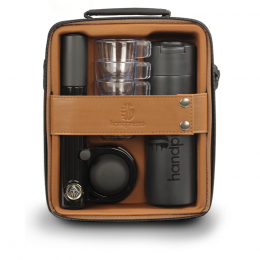 Handpresso Pump black espresso set black brown