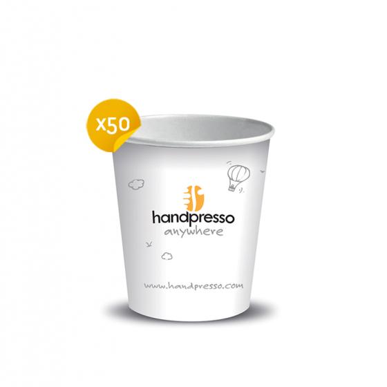Grands gobelets en carton pour Handcoffee Auto - Handpresso